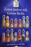 Flensburger Pilsener 125 Jahre Poster, Plakat Zeiten ändern sich III