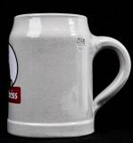 Schultheiss Lager Bier, Bierkrug, Steinzeug-Bierkrug, Tonkrug, 0,5l