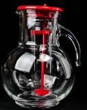 Granini Saft Karaffe, Wasser Karaffe mit Eisröhre und Umrührer
