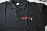 The Famous Grouse Polo-Shirt schwarz in M mit Logo OVP