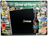 Sternquell Pilsener, 3D Blechschild, Werbeschild Brauverein Plauen Horizontal