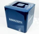 Ramazzotti Likör, Eiswürfelbehäter, Flaschenkühler, blaue Ausführung, rar
