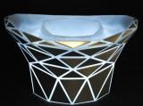 Red Bull, Akku LED, Diamond Flaschenkühler, Eiswürfelbehälter, Leuchtfunktion!