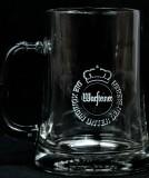 Warsteiner Bier Glas / Gläser, Bierkrug 0,3l, Seidel, Humpen Freundschaft