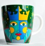 Jacobs Kaffeebecher, Kaffeetasse, Becher, Tasse, Ritzenhoff, FEHLDRUCK