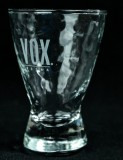 Vox Vodka, Shot Glas, Stamper, Vodka Glas, Wabenform Ausführung