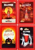 Kilkenny Bier, 4 x Magnete, Kühlschrank, Kühlschrankmagnete, Helloween Magnet Set