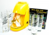 Schweppes Cocktailset, Zubehör, 6x Longdrinkglas, 1x Ice-Crusher, 1x Cocktail