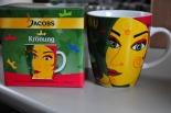 Jacobs Kaffeebecher, Becher, Tasse, Krönung Ritzenhoff, Tasse Kaffeetasse 9.