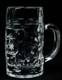 Alpenschnaps Steinbeisser Glas, Shotglas, Stamper Maßkrug 4cl