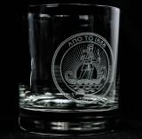 Metaxa Weinbrand Glas, Tumbler, starker Boden ANO TO 1888