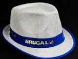 Ron Brugal Rum, Sommerhut, Partyhut, blau beige Ausführung