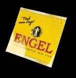 Engel Bier, Aufkleber Prost mein Engel Hochglanz Qualität 15 x 15 cm