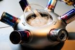 Red Bull Ufo, Dosenkühler, Eiswürfelbehälter