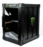 Monster Energy, Minikühlschrank, Gastrokühlschrank B61N7 schwarz