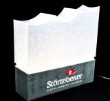 Störtebeker Bier LED, Leuchtreklame, Leuchte, Sonderedition Elbphilharmonie