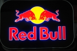 Red Bull LED Display, Leuchtreklame, Leuchtwerbung, Neonleuchte