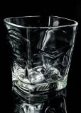 Ballantines Glas / Gläser, Whiskyglas, Tumbler, eckige schwere Ausführung G