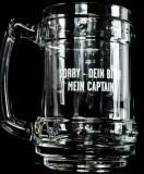 Captain Morgan Captain Rum Relief Krug, Glas, Gläser Sorry - Dein Bier!
