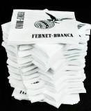 250 x Fernet Branca Papier Servietten, Servierten 25 x 25cm