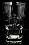 Jim Beam Glas / Gläser, Longdrinkglas, Whiskeyglas, Fußsignierung