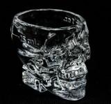 Crystal Head Vodka, Glas, Gläser, Totenkopf Shot Glas, Stamper, 25ml / 2cl