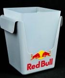 Red Bull Energy, Eiswürfelbehälter, Flaschenkühler 3 teilig
