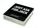 Jack Daniels Whisky, 20 x Bierdeckel, Untersetzter Just ask for Jack