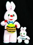 Duracell Batterien, Duracell Hasen, Werbefigur, Hase mit Baby, Rabbit