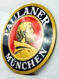 Paulaner Weissbier, XL Werbeschild aus Hartacryl, Werbung