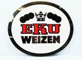 Kulmbacher EKU Bier, Werbeschild, Reklameschild aus Kunststoff