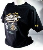 Jever Bier Biker T-Shirt Motiv 1 Customs schwarz in M m. Logo