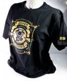 Jever Bier Biker T-Shirt Motiv 2 Motor schwarz in M m. Logo