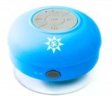 Gerolsteiner Wasser, Akku Bluetooth 3.0 Duschlautsprecher, tragb. Lautsprecher