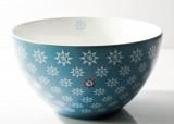 Gerolsteiner Wasser, Porzellan Müslischale, Bowls, Schale, Farbe Blau