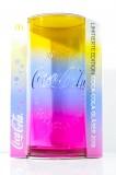 Coca Cola, Kontur Relief Glas, Regenbogen Glas Edition 2019, Mc Donalds