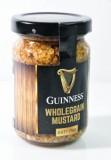 Guinness Bier, Wholegrain Mustard Senf mit ganzen Senfkörnern 100g