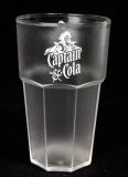 Captain Morgan, Acryl Kunststoffbecher, Fetival Becher, Partybecher Doppellogo