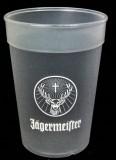 Jägermeister, Likör Acryl Kunststoffbecher, Fetival Becher, Partybecher Glas 0,3l
