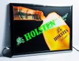 Holsten Pilsener Bier, LED Leuchtreklame, Leuchtwerbung in Alurahmen