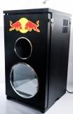 Red Bull Energy, Gastrokühlschrank, D. J. Cooler 2P im Lautsprecherdesign