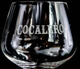 Cocalero Likör, Ballonglas, Cocktailglas, Gläser, grün Unterlaufen