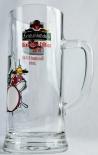 Feldschlößchen Glas / Gläser, Bierglas, Krug, 40 Jahre Dixieland 2010 Edition