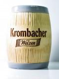 Krombacher Weizen Bier, Besteckfässchen aus Steingut Keramik