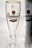 Radelberger Pilsener Glas / Gläser, Bierglas / Biergläser, Pokal Stockholm 0,3l