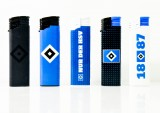 5 x Elektrofeuerzeug, Feuerzeug Set, HSV Hamburg, Hamburger SV, Logo Lighter
