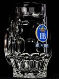 Hofbräu Haus Bier, Bierseidel, Bierkrug, 0,3l Logo blau älteres Modell