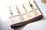 Ron Vacilon, 4er Set Rum Tasting Box 4cl in Echtholz Geschenkverpackung 40%
