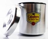 Caballero Likör, Edelstahl, Eiswürfelbehälter, Flaschenkühler 6l, 3 teilig
