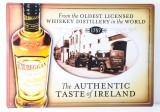 Kilbeggan Whisky, Werbeschild, Blechschild Motiv 1757